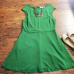 Casual knit swing dress by NY&Co. with pockets!